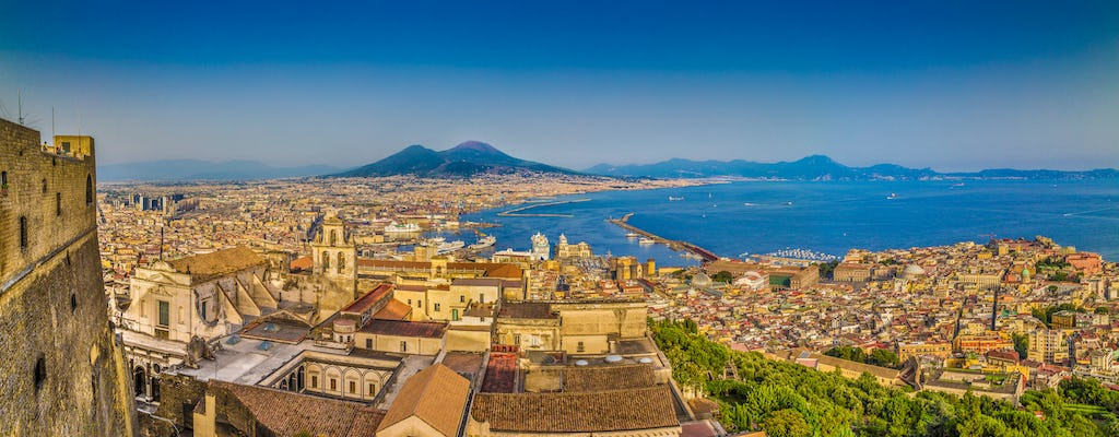 Naples old town walking tour and panoramic bus ride