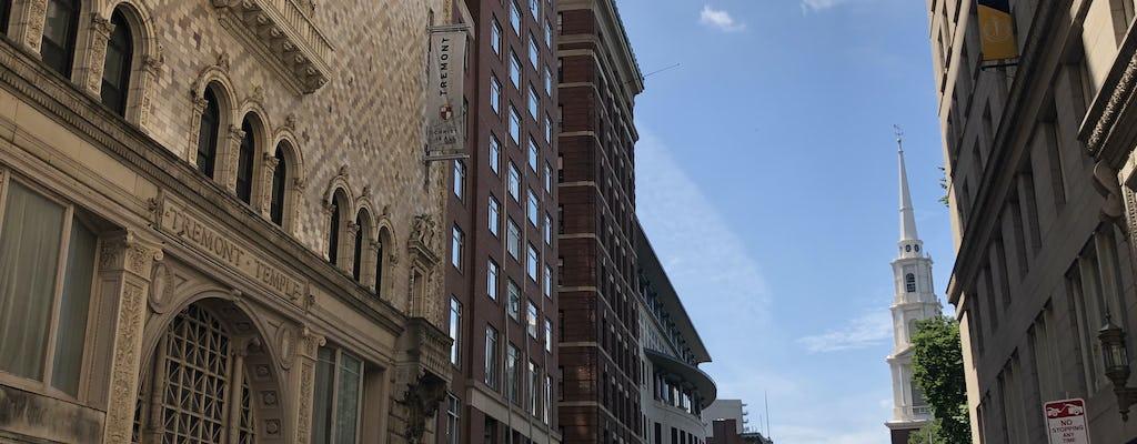 Jeu d'exploration et visite du centre-ville de Boston