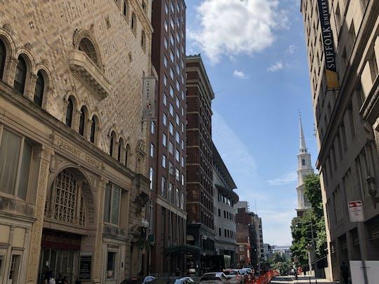 Jogo de exploração do centro da cidade de Boston e passeio