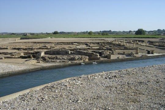 Zelfgeleide tour door de archeologische vindplaats Elis en het strand van Kourouta