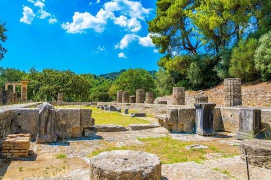 Rondleiding door de oude archeologische vindplaats Olympia met virtual reality
