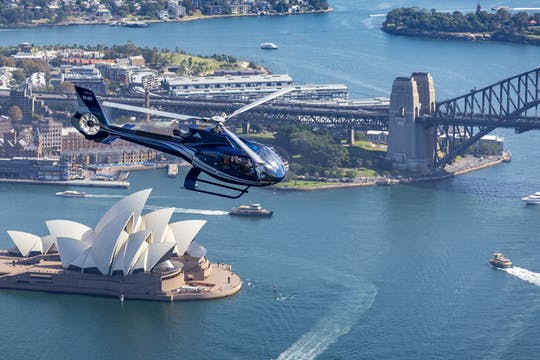 Sydney harbour 20 minutes scenic flight