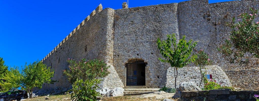 Chlemoutsi fortress and Kyllini thermal baths tour from Katakolo