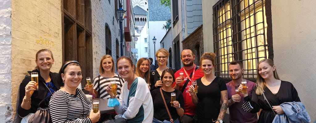 Cologne old town brewhouse tour