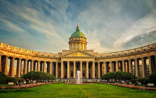 Saint Petersburg bus sightseeing tour with guided visit to the Hermitage Museum