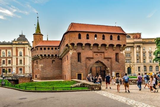 Il centro storico di Cracovia evidenzia il tour privato con la collina e la cattedrale del Wawel