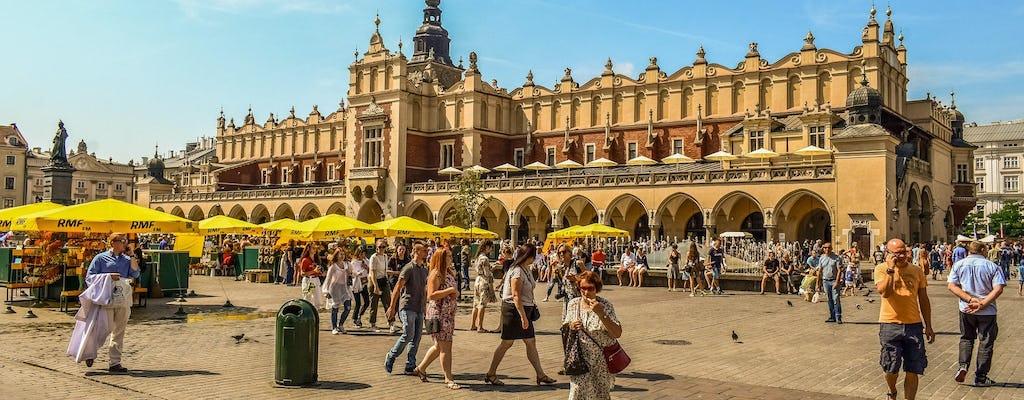 Tour privato delle attrazioni della città vecchia con la collina del Wawel, la cattedrale e il cortile del castello
