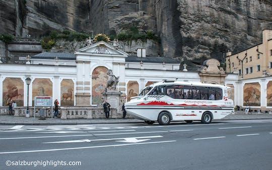 Tour en autobús anfibio por Salzburgo