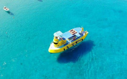 U-Boot-Tour durch die Bucht von Lindos und Navarone