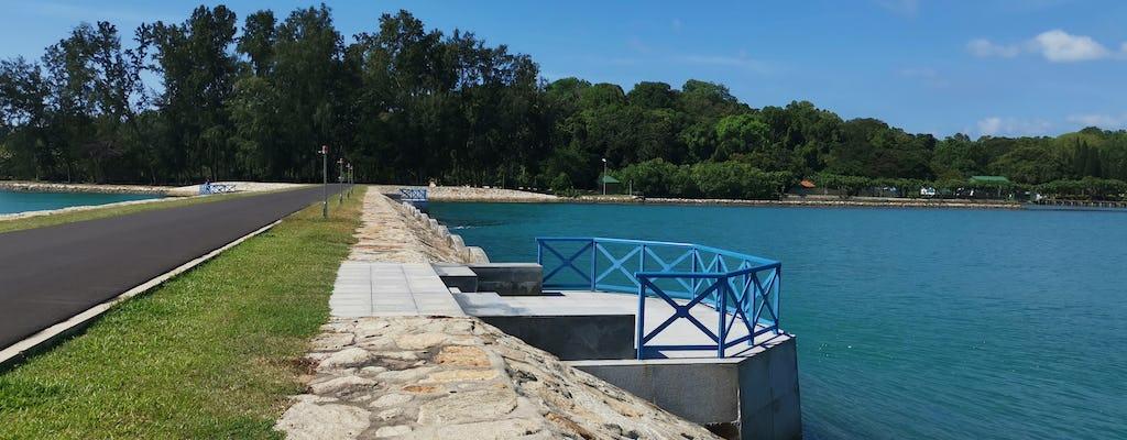 Barco de cruzeiro da Ilha de Cingapura para a Ilha de St. John, Ilha Lazarus e Ilha Kusu