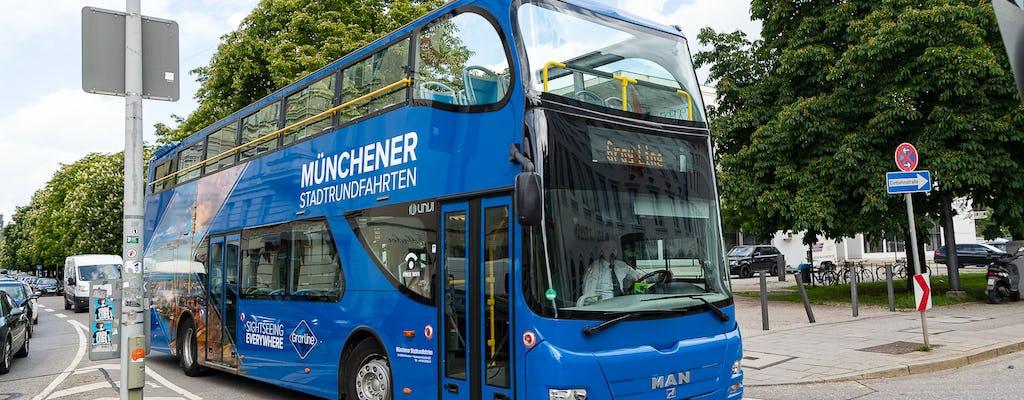 24-часовая автобусная экскурсия по Мюнхену с остановками по желанию