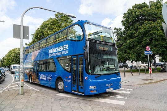 24-hour grand hop-on hop-off bus tour of Munich