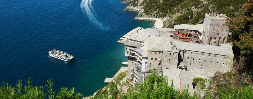 Mt. Athos full-day cruise from Thessaloniki