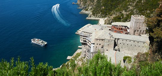 monte Crucero de día completo por el Athos desde Salónica