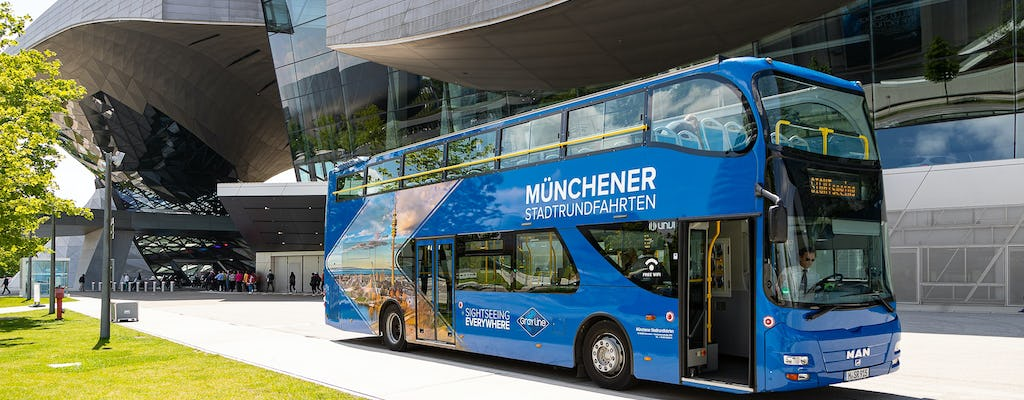 Munich 48-hour grand hop-on hop-off sightseeing tour