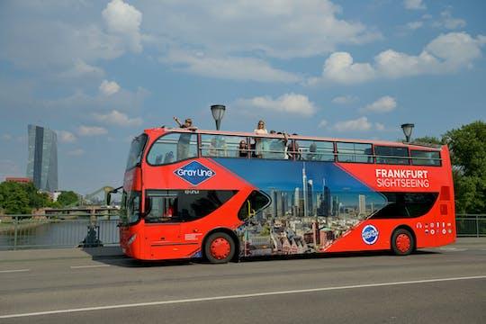 Frankfurt express tour by bus