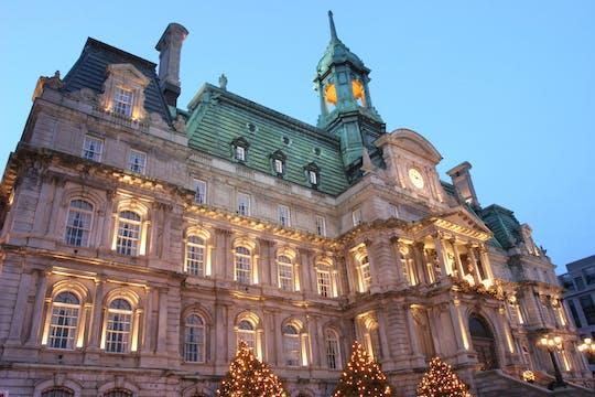 Visite à pied de Noël dans le Vieux-Montréal