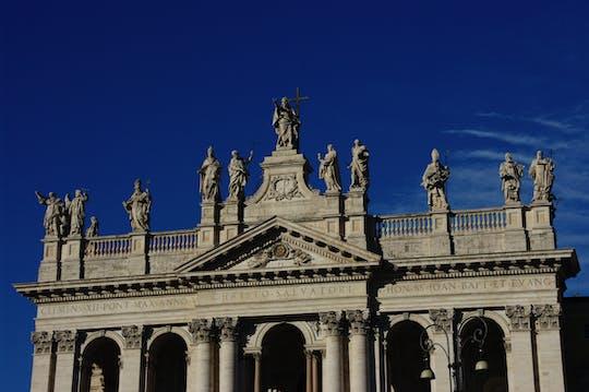Templos subterrâneos e tour pelas basílicas proto-cristãs em Roma
