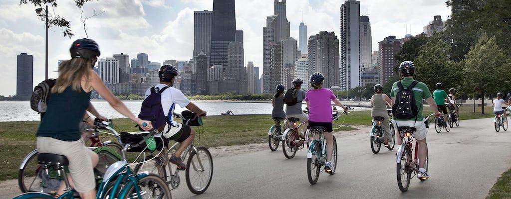 Aluguel de bicicleta em Chicago o dia inteiro
