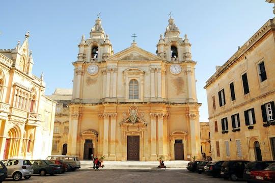 Mosta, Crafts Village, Mdina & Valletta