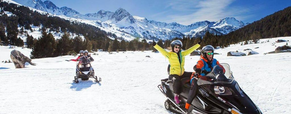 Expérience de motoneige à Grand Valira