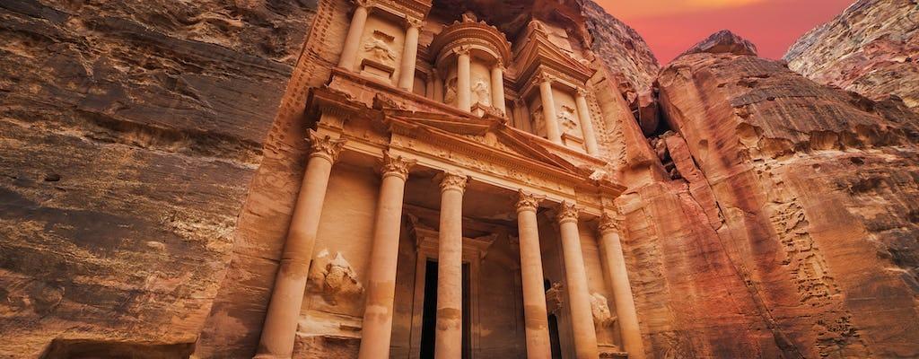 Visite privée de Petra et du monastère d'Amman