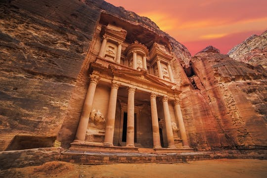 Private tour of Petra and the Monastery from Amman