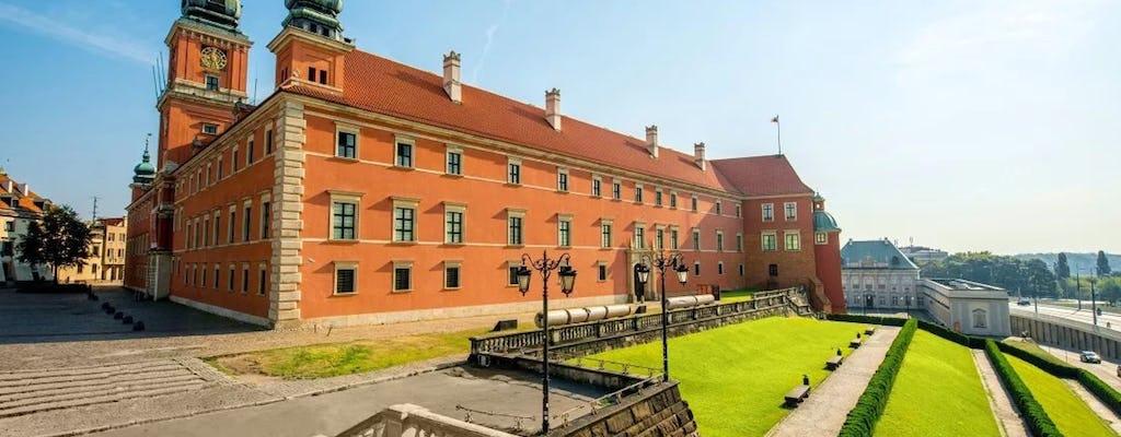 Visita guiada ao Castelo Real sem filas em Varsóvia