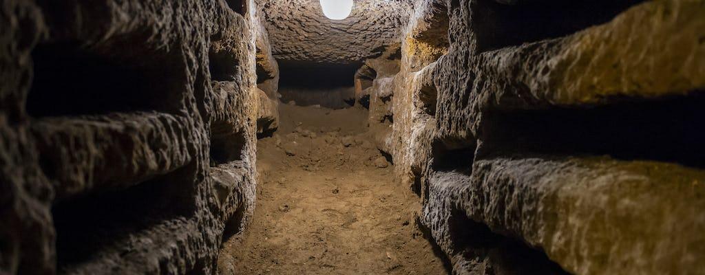 Автобус в римские подземные катакомбы