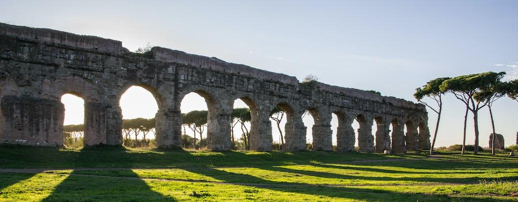 Appian Way, St. Sebastian catacombs and the Aqueduct Park coach tour