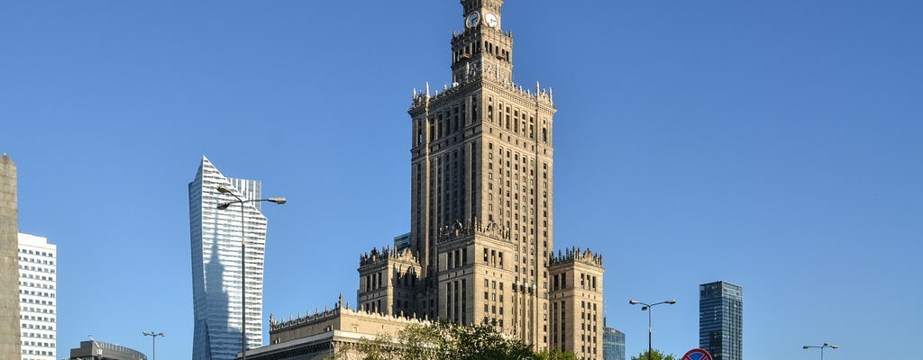 Skip-the-line Palace of Culture and Science and Warsaw city center private guided tour