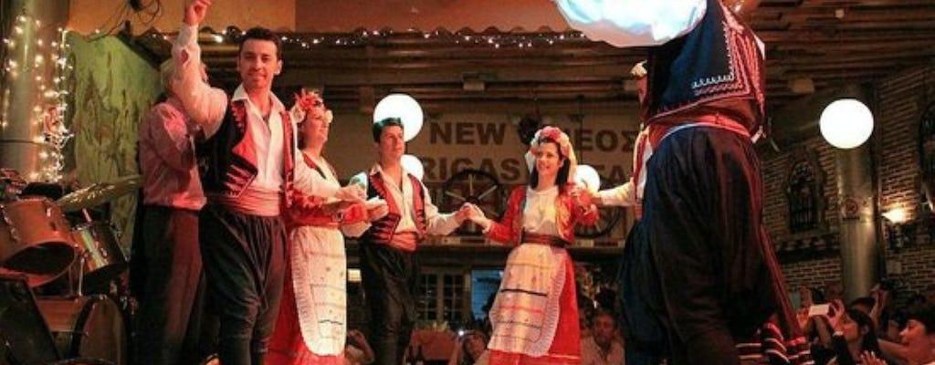 Шоу народной музыки и ужин в Афинах