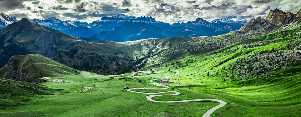 Перевал Гиау и велосипедный тур по Аллеге