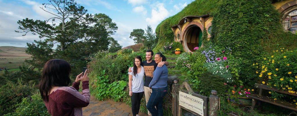 Hobbiton and Waitomo cave full-day tour