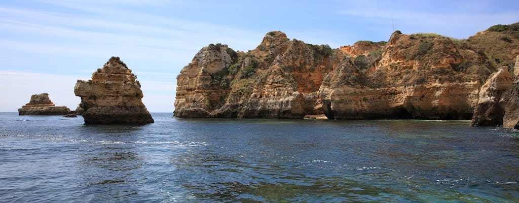 Ponta da Piedade caves boat tour from Lagos