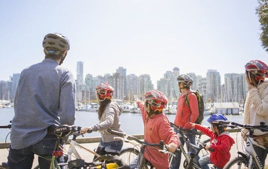 Vancouver Stanley Park cycling tour