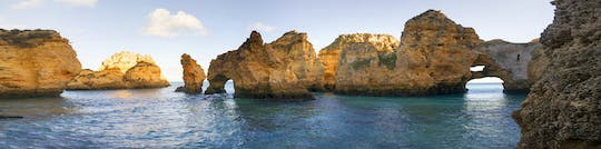 Kayaking and stand-up paddle private tour in Ponta da Piedade