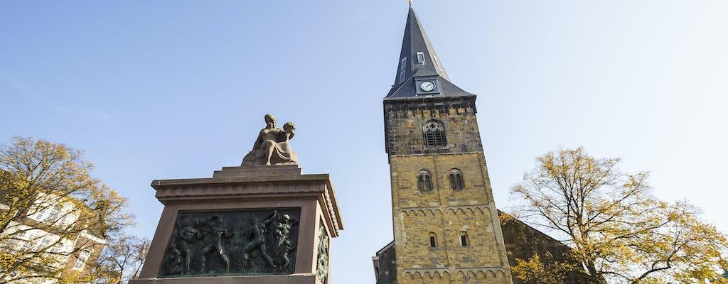 Wanderung in Enschede mit einem selbst geführten Stadtweg