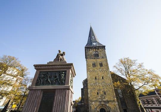 Visita a pie en Enschede con un recorrido autoguiado por la ciudad