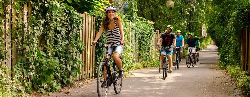 Alquiler de bicicletas híbridas confort