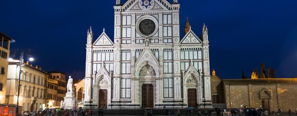 Tour privado noturno de bicicleta em Florença