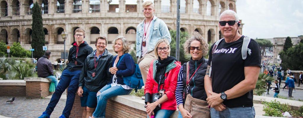 Visita sin colas al Coliseo, al Foro Romano y al Monumento a Víctor Manuel II