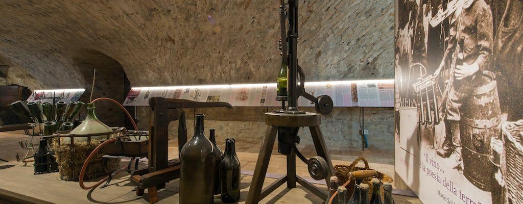 Kaartjes voor het wijnmuseum in Sala Baganza