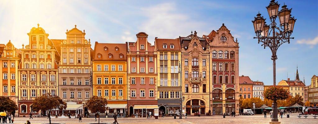 Passeio romântico em Wroclaw