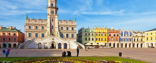 Best highlights of Zamosc walking tour
