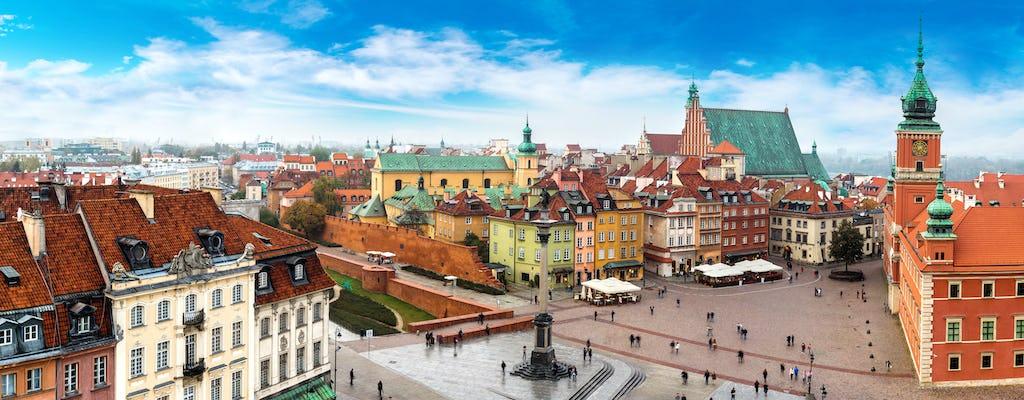 Passeio romântico em Varsóvia