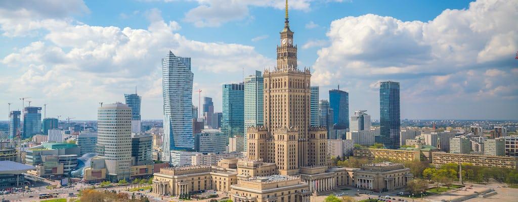 Os melhores destaques do passeio a pé em Varsóvia