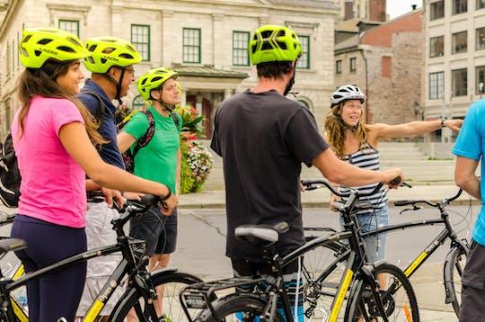 Vélo électrique de 4 heures à Montréal et visite guidée