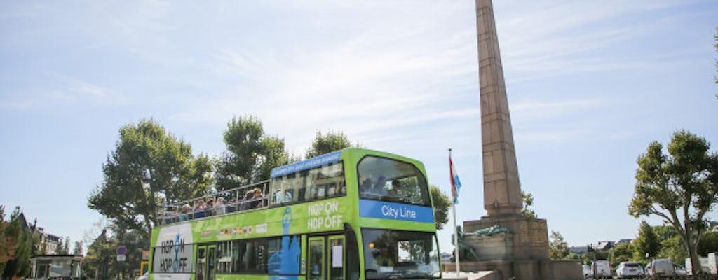 Recorrido en autobús con paradas libres por la ciudad de Luxemburgo