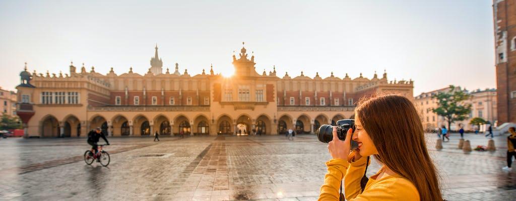 Tour romantique à Cracovie